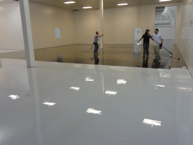 epoxy flooring keeps creek