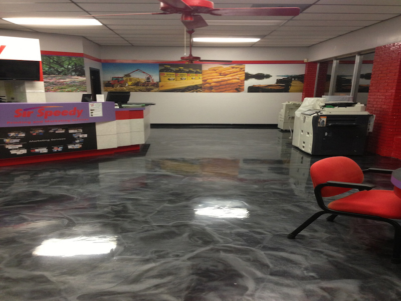 epoxy flooring green valley