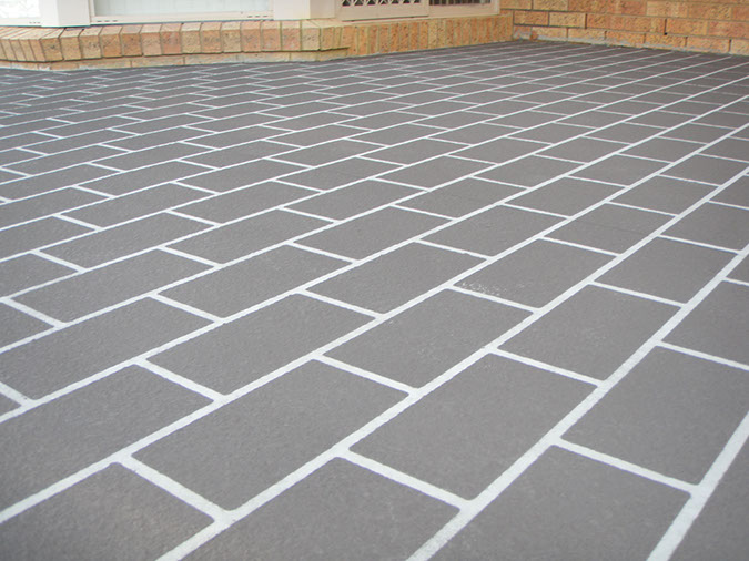 spray on paving girraween