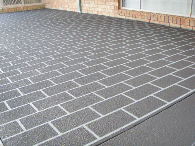 spray on paving lansvale