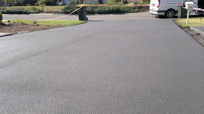 spray on paving mount annan