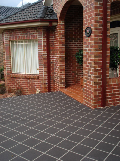 spray on paving gledswood hills