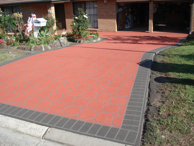 spray on paving minto