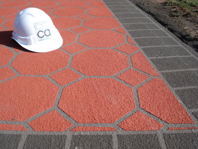 spray on paving austral