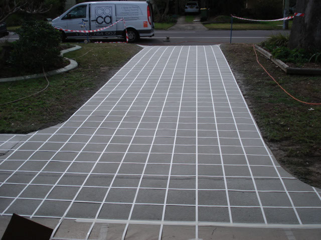 spray on paving contractors
