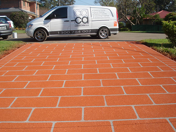 spray on paving wetherill park