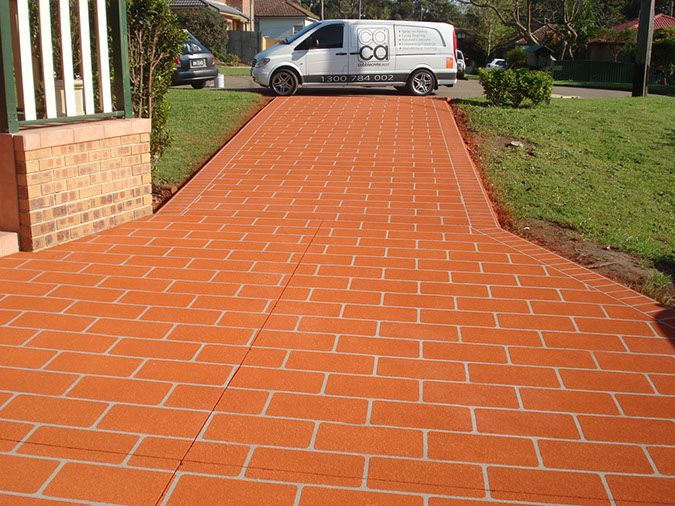 spray on paving mount pritchard