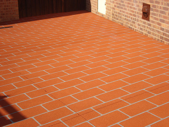 spray on paving prestons