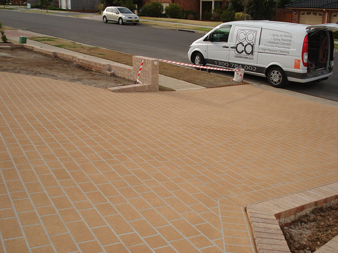 spray on paving colebee