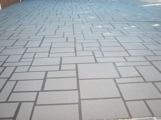 spray on paving blacktown