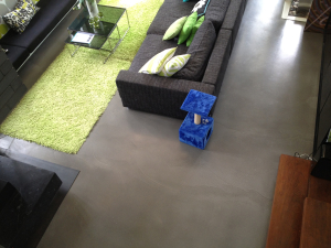 beautiful custom concrete floors